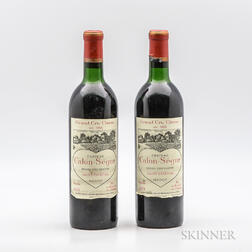 Chateau Calon Segur 1970, 2 bottles