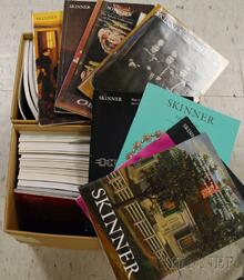 Collection of Skinner Auction Catalogues