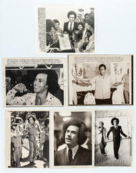Sixteen Huey P. Newton Press Photos