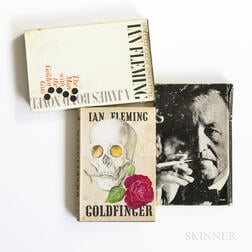 Fleming, Ian (1908-1964) Three Titles.