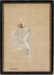 Warren B. Davis (American, 1865-1928)      Dancer