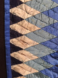Pieced Silk Quilt