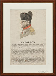 """Napoleon"" The Triumph of 1813   Etching"
