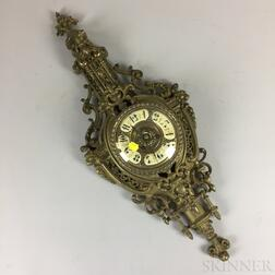 Louis XVI-style Bronze Cartel Clock