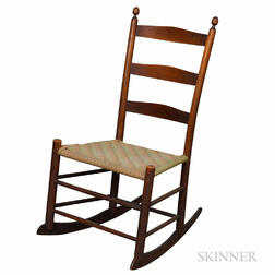 "Shaker Maple ""3"" Rocking Chair"
