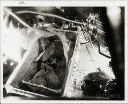 Apollo 11, First Photograph of a Moon Rock Sample on Earth, July 26, 1969.