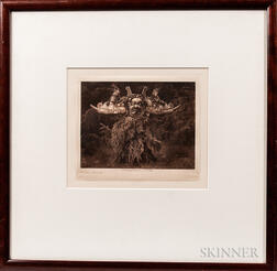 Edward Curtis Photogravure Print