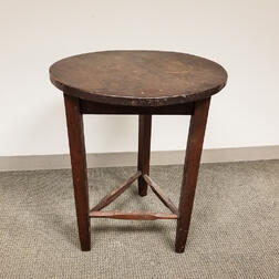 Mission-style Walnut Side Table