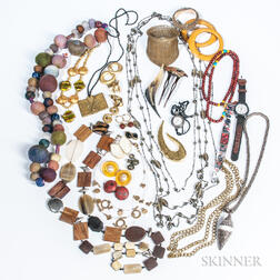Group of Asian Costume Jewelry