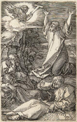 Albrecht Dürer (German, 1471-1528)      Christ on the Mount of Olives