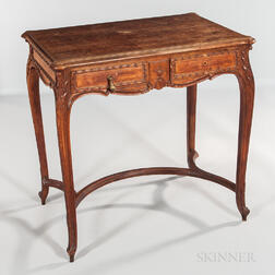 Louis XV-style Walnut Dressing Table
