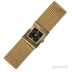 "18kt Gold ""Bellflower"" Wristwatch, Tissot"