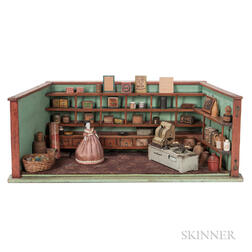 Diorama of an English Country Store