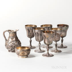 Group of English and Continental Silver Tableware