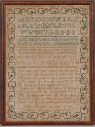 Susan Burbeck Needlework Sampler