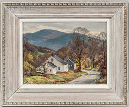 Jacob I. Greenleaf (American, 1887-1968)      Road to Waterville, Vt.