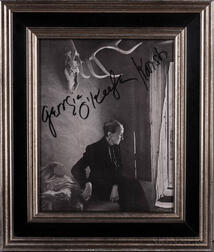 O'Keeffe, Georgia (1887-1986) and Yousuf Karsh (1908-2002) Signed Photograph.
