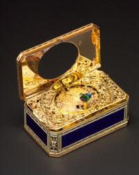 Important Gold and Enamel Signed Singing Bird Box by Jaquet-Droz & Leschot