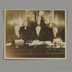 """Smith, Alfred Emmanuel """"Al"""" (1873-1944) Signed Photo and Two Typed Letters Signed."""