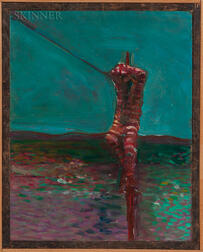 Joby Baker (Canadian/American, b. 1934)      Stripes Crucified