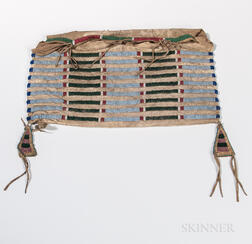 Crow Beaded Hide Possible Bag