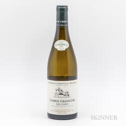 Christian Moreau Chablis Les Clos 2009, 1 bottle