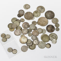 Group of World Silver Coins