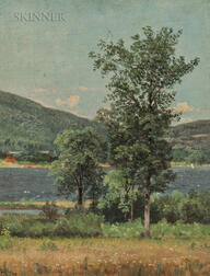 Nelson Augustus Moore (American, 1924-1902)      Lake George, South Shore