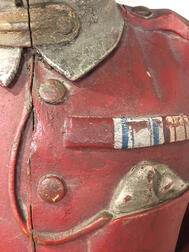 Carved and Painted Scottish Military Figurehead