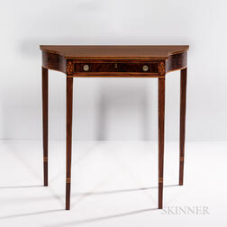 Diminutive Federal Pier Table with Drawer