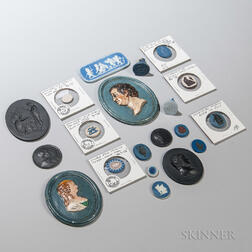Twenty Wedgwood and Related Medallions