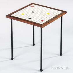 Tile-top Plant Stand