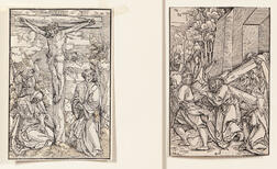 Schäufelein, Hans Leonhard (c. 1480-1540) Three Woodcuts of the Crucifixion, c. 1505.
