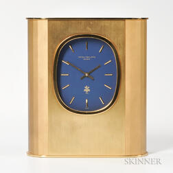 "Patek Philippe ""Ellipse D'or"" Solar Clock"