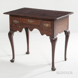 George II Oak Dressing Table