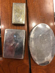 Three Early English Silver Boxes
