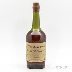 Le Brasque Bas Armagnac, 1 bottle