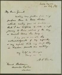 Two Autograph Letters from Nathanial P. Banks, Union General