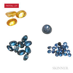 Group of Unmounted Sapphires