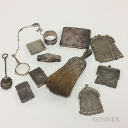 Group of Silver Accessories