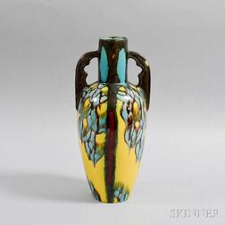 French Art Pottery Vase