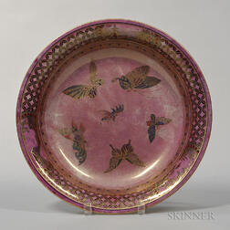 Wedgwood Butterfly Lustre Lily Tray