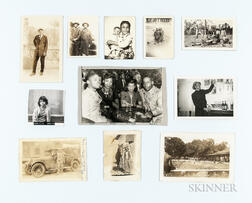 Eleven Photographs of African Americans.     Estimate $50-100