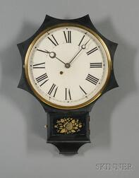 Iron-Front Wall Clock by the Terry Clock Company