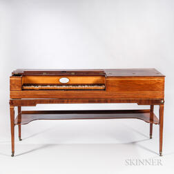 George Astor Mahogany Inlaid Piano