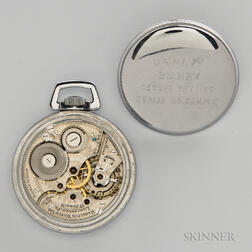 """Hamilton """"974 Special"""" Second Setting Watch"""