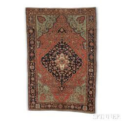 Antique Malayer Sarouk Rug