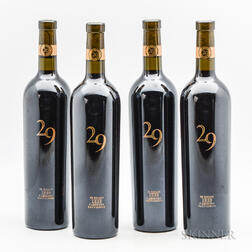 Vineyard 29 Estate 2006, 4 bottles