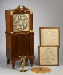 Exhibition-Quality Replica of 1750 Dutch Mechanical Optical Cabinet