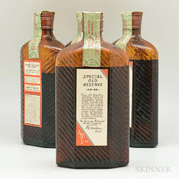 Harry E Wilken Special Old Reserve 15 Years Old 1917, 4 pint bottles (oc)